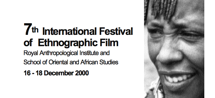 7th RAI Film Festival 2000 SOAS, University of London